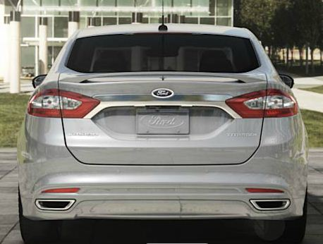2013 Ford Fusion Rear