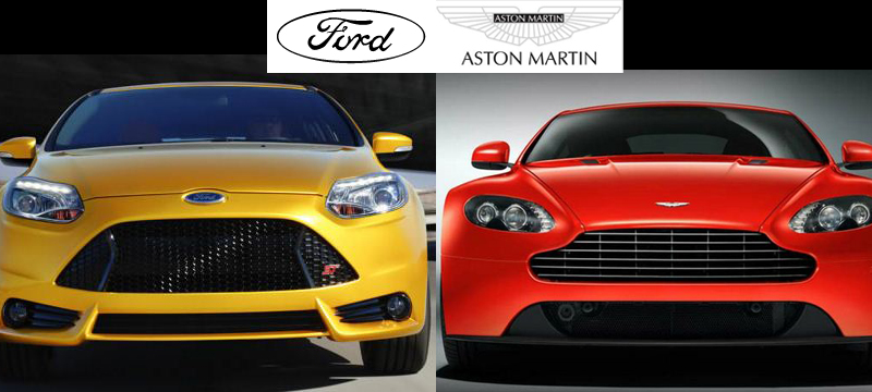 "Ford continues Aston Martin ""look"" with Focus and other models"
